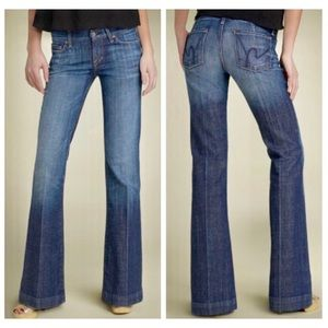 Citizens Of Humanity Faye Full Leg Low Rise Jean